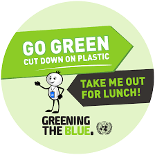 design logo go green sustainability tutorial greening the blue