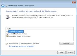 android adb driver tutorial manually installing android adb usb driver