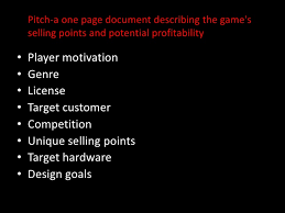 hardware design proposal writing a gaming proposal