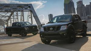 nissan frontier custom nissan titan and frontier go dark for new midnight editions