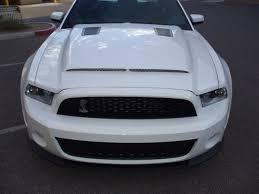 Black Mustang Gt500 2010 2014 Gt500 New 2013 14 Gt V6 Mustang Gt500 Black Mamba Hood