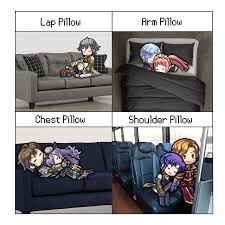 Meme Emblem - a pillow meme i did using fire emblem heroes chibi sprites