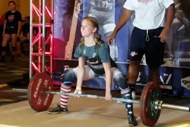 14 Year Old Bench Press 14 Year Old Alayna Easterly Deadlifts 147 5kg 3 1 Times Her