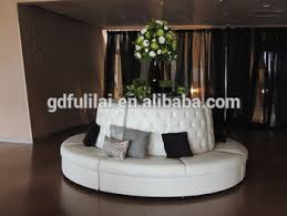 Circular Banquette White Leather Round Banquette Sofa Buy French Banquette Bench