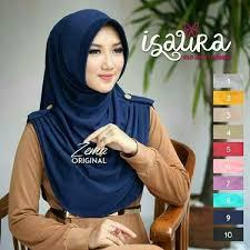 model jilbab jilbab instan isaura model syar i terbaru 2018 bundaku net