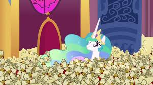 Princess Celestia Meme - image princess celestia in a sea of scrolls s6e15 png my little
