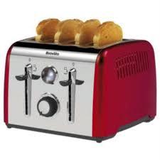 Best Four Slice Toaster Uk Breville Aurora 4 Slice Toaster Red Amazon Co Uk Kitchen U0026 Home