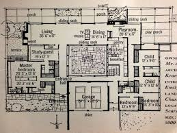 courtyard house plans mid century modern house plans courtyard home atrium luxury 58 on
