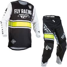 fly womens motocross gear fly racing 2018 kinetic era youth motocross jersey u0026 pants black