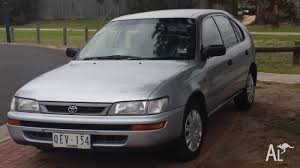 1997 toyota corolla seca 1997 toyota corolla seca conquest hatchback for sale in epping