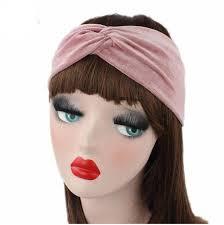 velvet headband new fashion women crossed headband velvet hair band hair accessory