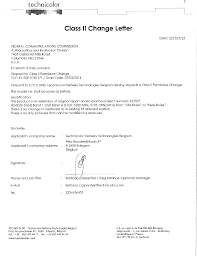 u siege social tc8717t cable modem cover letter class ii change letter technicolor