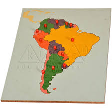United States Map Puzzle by South America Map Puzzle Promotionshop For Promotional South