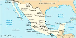 maps of maps of mexico directory from mexonline com