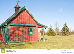 red storage barn u0026 garage royalty free stock image image 7616376