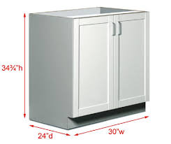 Measuring For Kitchen Cabinets by Kitchen Cabinets Sizes