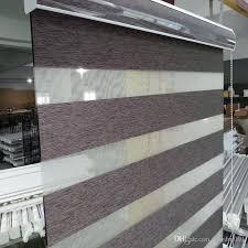 Cheap Blinds Online Usa Custom Made Shade Translucent Roller Zebra Blinds In Brown