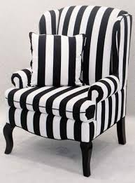 Black And White Sofas by Stylish Black And White Striped Accent Chair Black And White