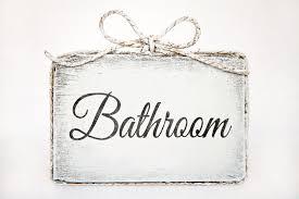 classy 20 bathroom sign home decor design decoration of best 25
