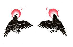 crow tattoo art and designs page 4