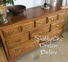 the shabby chic dresser a before u0026 after story maison designs home