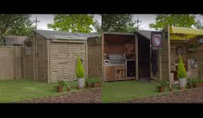 ultimate backyard bbq video this ultimate bbq shed will make your bbqs the best on the