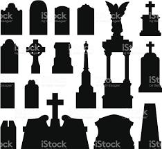 graveyard clipart tombstone clip art vector images u0026 illustrations istock