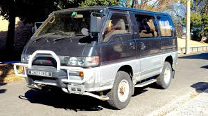1991 mitsubishi delica 1990 mitsubishi delica turbo diesel 5 speed usa import japan