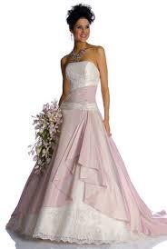brautkleider zweifarbig pink wedding dresses are gaining popularity among brides
