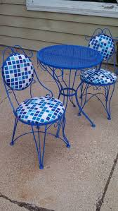 Oval Wrought Iron Patio Table by Best 10 Iron Patio Furniture Ideas On Pinterest Mosaic Tiles