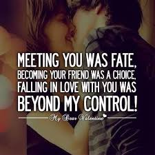 Meme Love Quotes - falling in love with you was beyond my control best quotes quotes