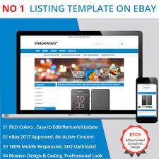 free ebay auction templates listing template ebay