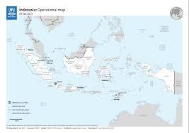 Map Of Jakarta Where We Work Unhcr Indonesia