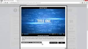 how to make a awesome youtube intro video free easy u0026 no software