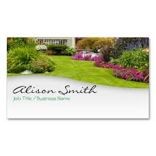 Mowing Business Cards Landscaping Double Sided Standard Business Cards Pack Of 100