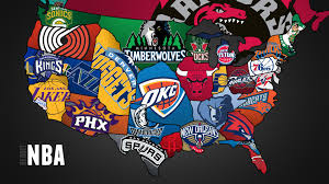 map usa nba here s a map i made of all nba teams organised by conference and