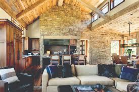 modern log home interiors 5 log cabins that redefine rustic