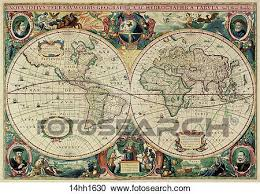 antique map world stock illustrations of world maps antique maps 1680 1520