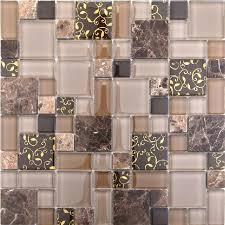 stone marble mosaic tile glass mosaic kitchen tile backsplash