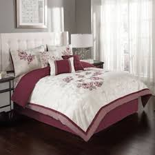 Wine Colored Bedding Sets Wine Colored Comforter Sets Buy Burgundy Set From Bed Bath Beyond