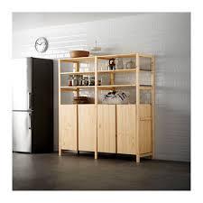 ivar ikea ivar 2 section shelving unit w cabinet 68 1 2x19 5 8x70 1 2 ikea