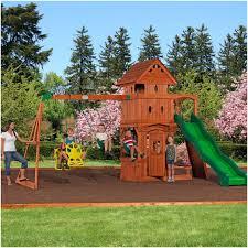 Backyard Discovery Weston Cedar Wooden Swing Set Backyards Bright 120 Backyard Discovery Weston Cedar Swing Set