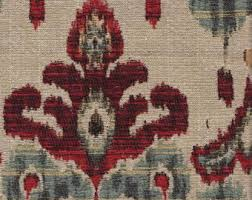 Blue Ikat Curtain Panels Tapestry Drapes Etsy