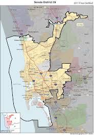 Cal State Fullerton Map Caucus Members Senate Democratic Caucus