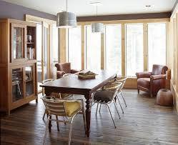 floor trim ideas dining room rustic with metal dining chairs