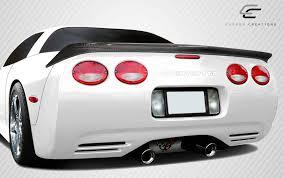 corvette wing 1997 2004 chevrolet corvette c5 carbon creations ac edition rear