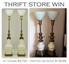 librarian tells all thrift store win vintage stiffel lamps and