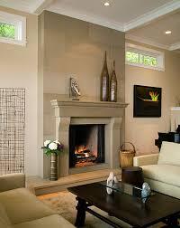 fresh decorating around a fireplace design ideas modern fancy at