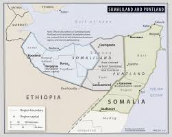 Map Of Somalia Easo Country Of Origin Information Report Somalia Security Situation