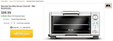 Breville Toaster Oven Bov800xl Best Price The Best Toaster Oven Breville Convection Solo Photo Toaster